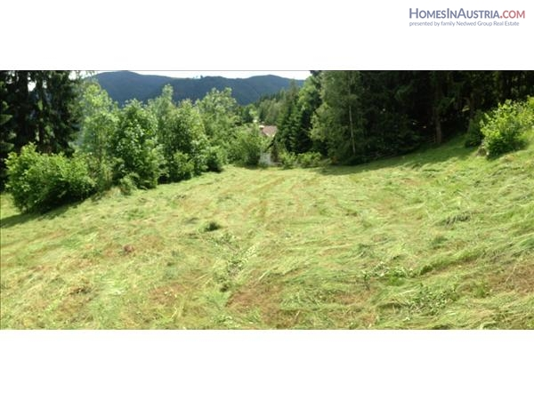 Reichenau Wiedweg, Carinthia Buildable Land (TOSCA 2) ca. 1810 m² with a beautiful view