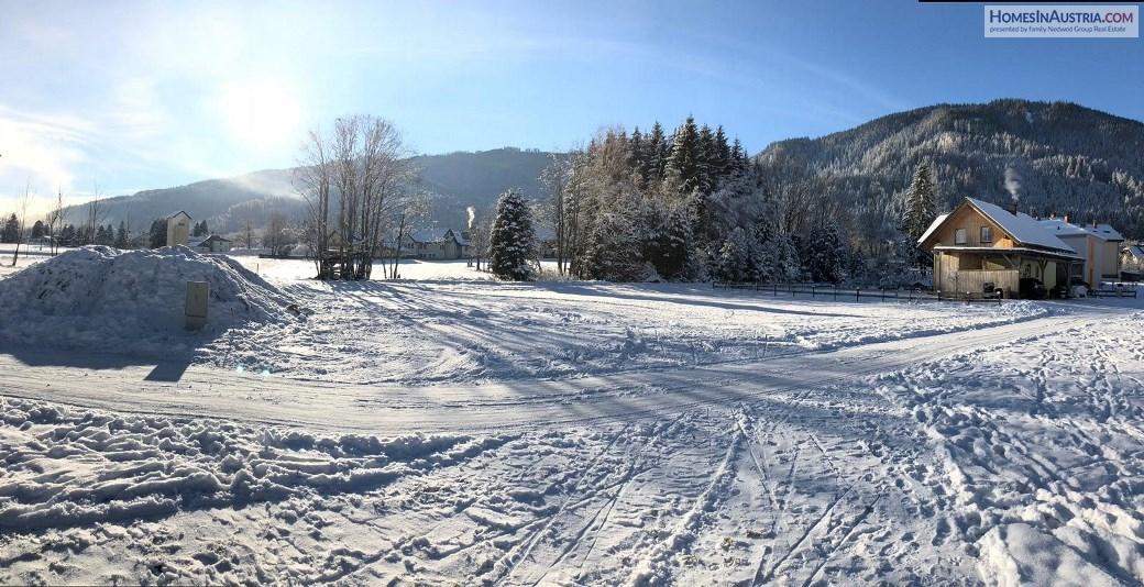 Gnesau/Carinthia, sunny buildable land ca. 678 m2