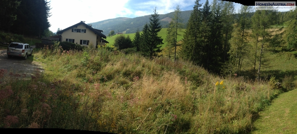 Bad Kleinkirchheim, St. Oswald, Buildable Land (NOGHE) ca. 1.025 m2 with planned Apartment project