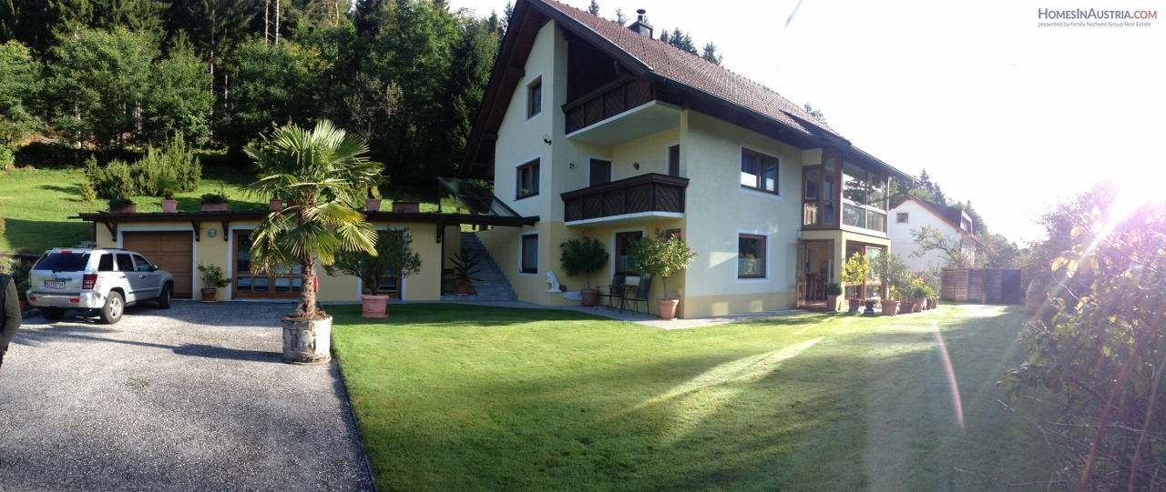 Ledenitzen, Carinthia, newly renovated home, nice view, green all around!