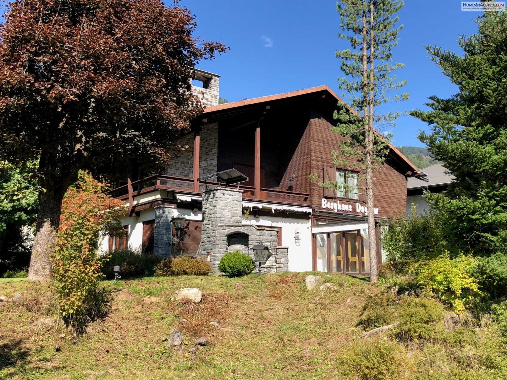 Bad Kleinkirchheim,  VILLA (DAGMAR) near the ski-lift Sonnwiesnbahn, 200m2 Living space 2500m2 Land