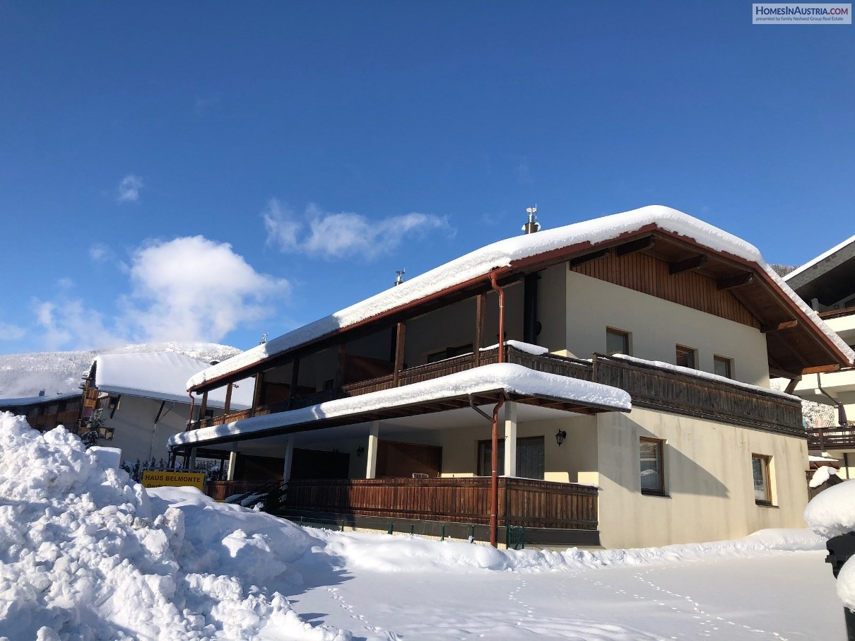Bad Kleinkirchheim, (POLEND) Apartment in the center near the hot spa and ski-lift