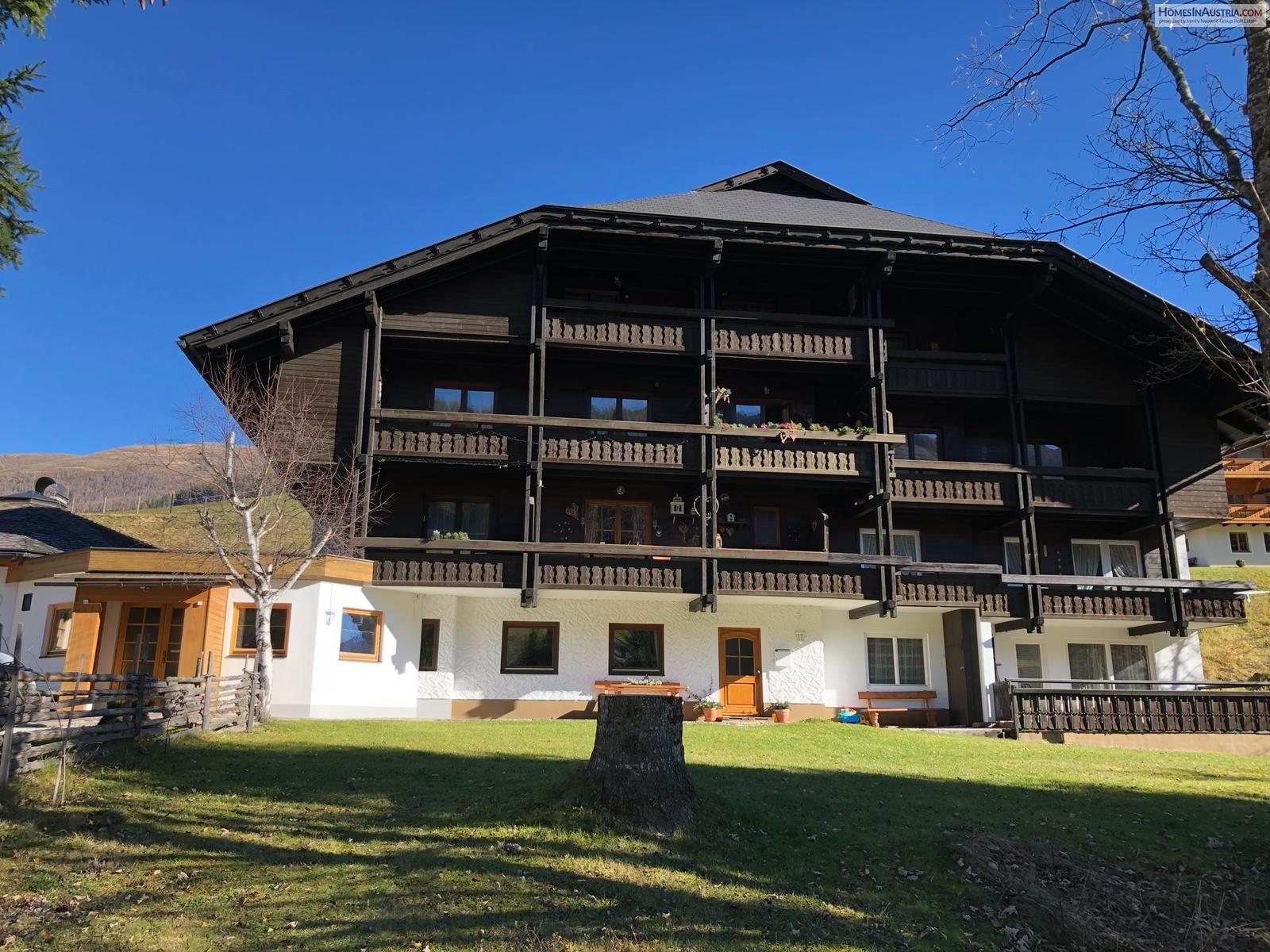 Bad Kleinkirchheim, St. Oswald, Apartment (ZIRBENHOF) 70 m2, Balcony
