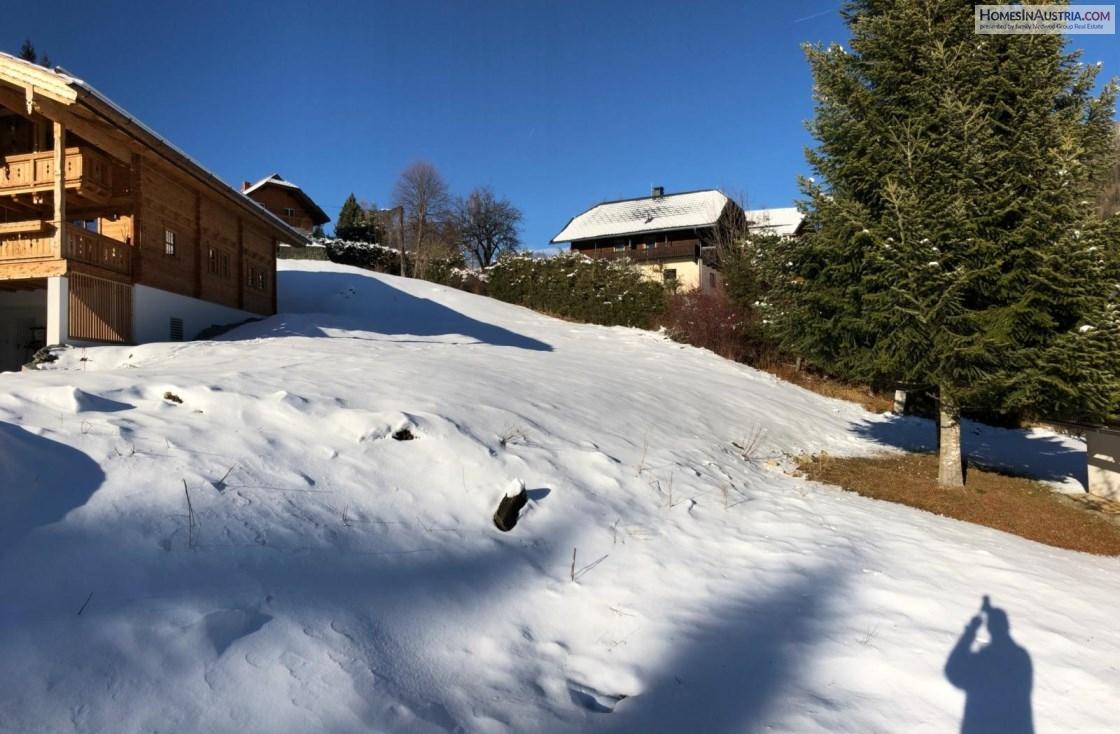 Bad Kleinkirchheim, Carinthia, 600m2 Buildable Land on the ski-slopes, sunny, great views