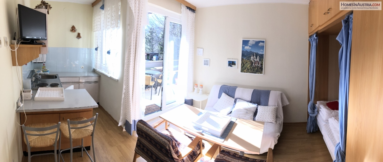 Bad Kleinkirchheim, Lovely Apartment for 2, near Ski-lift and Hot Thermal Spa (FORCES)