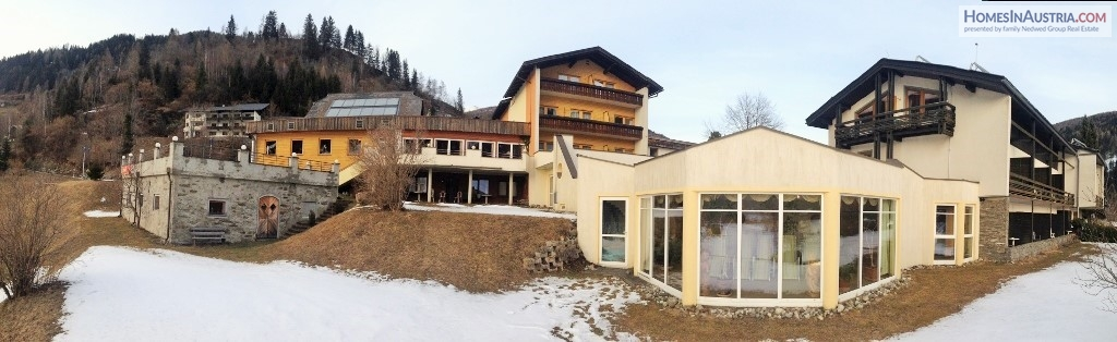 Bad Kleinkirchheim, Carinthia, Hotel (DAL) near Ski slopes and Thermal springs for Sale