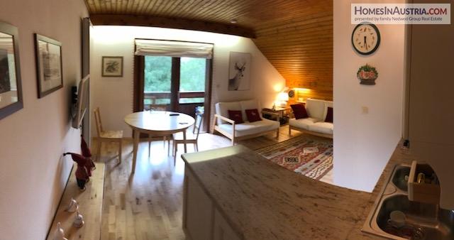 Bad Kleinkirchheim, Carinthia, Apartment (PAUL) 60m2 + 8m2 Balcony