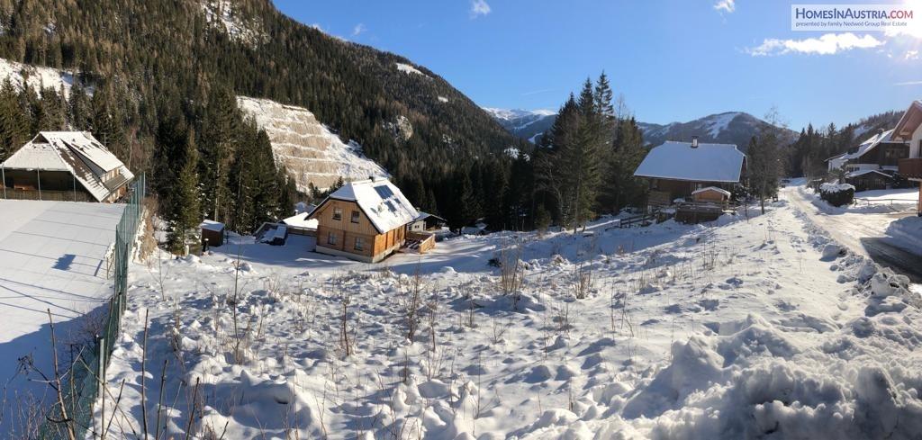 Bad Kleinkirchheim, Carinthia, buildable land near the ski lift Nockalmbahn