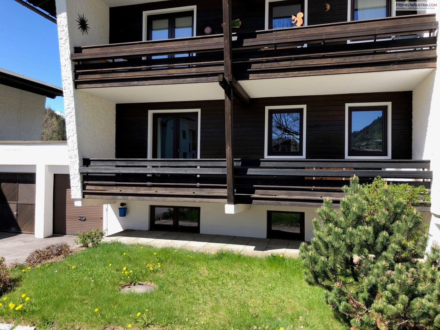 Bad Kleinkirchheim, Carinthia, Apartment (QUELLENWEG) 50m2, 2 Balconies, Garage, modern furnished