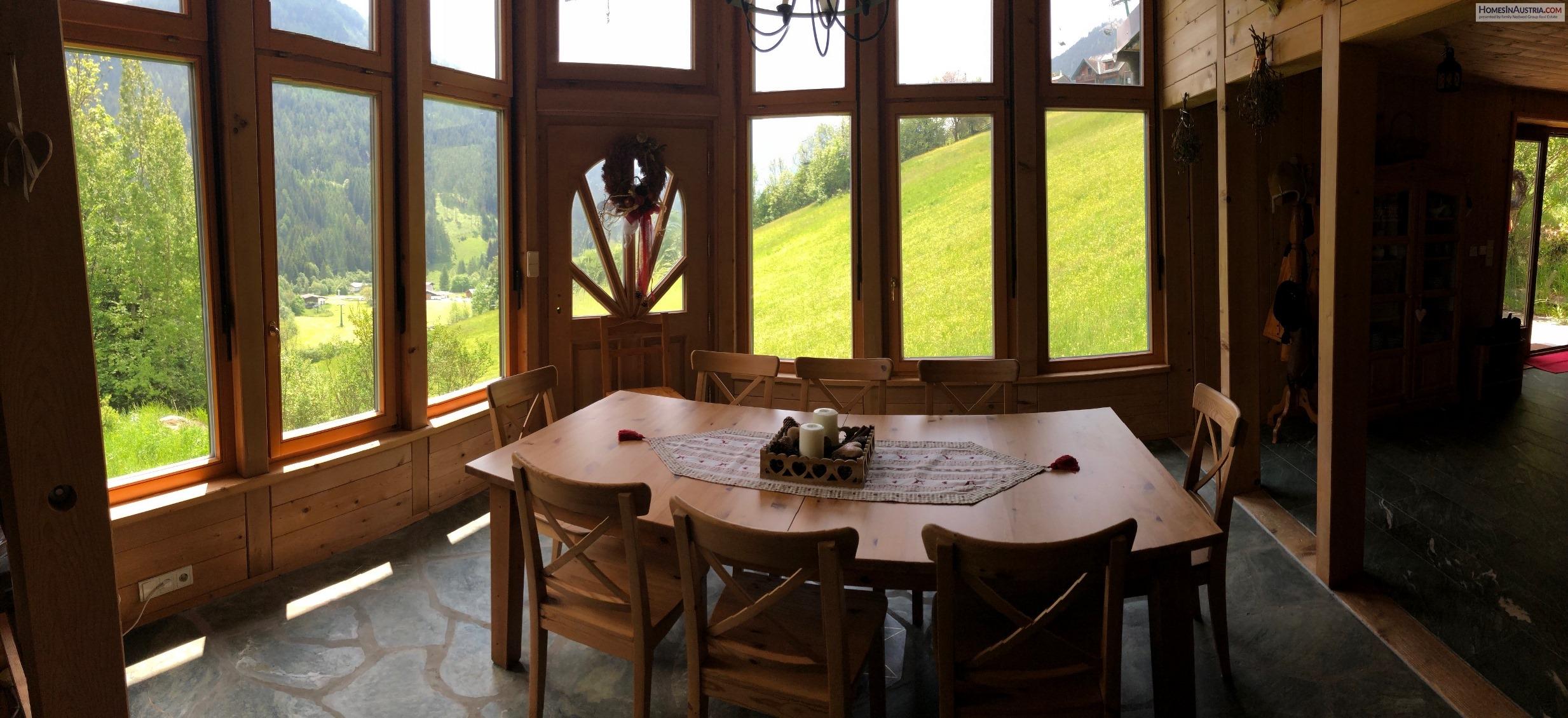 Bad Kleinkirchheim, Carinthia, 2 Apartments (SKI DIRECT) directly on the ski slope, rare opportunity