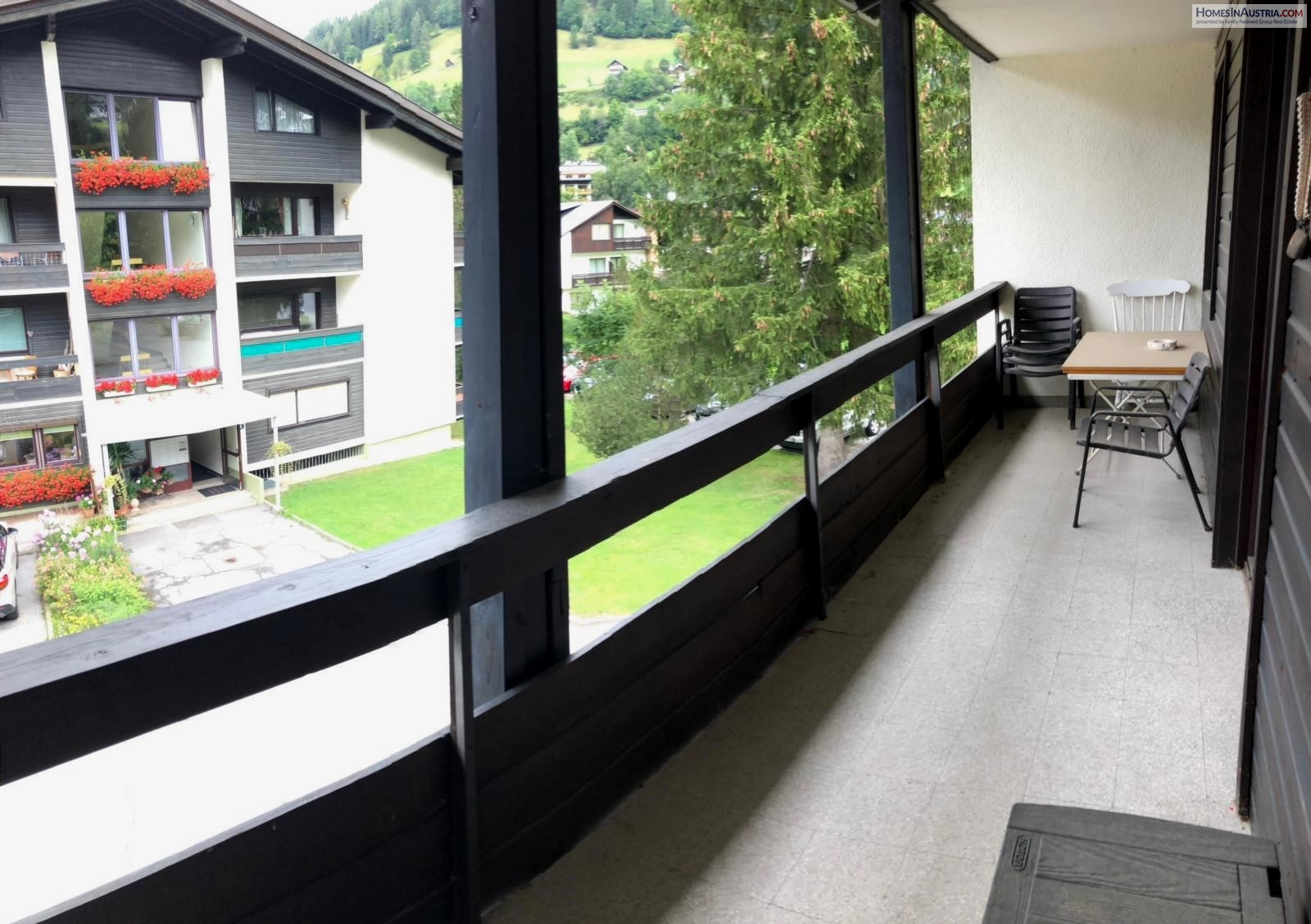 Bad Kleinkirchheim, Carinthia, Holiday Apartment (DRAGI) with one bedroom and balcony