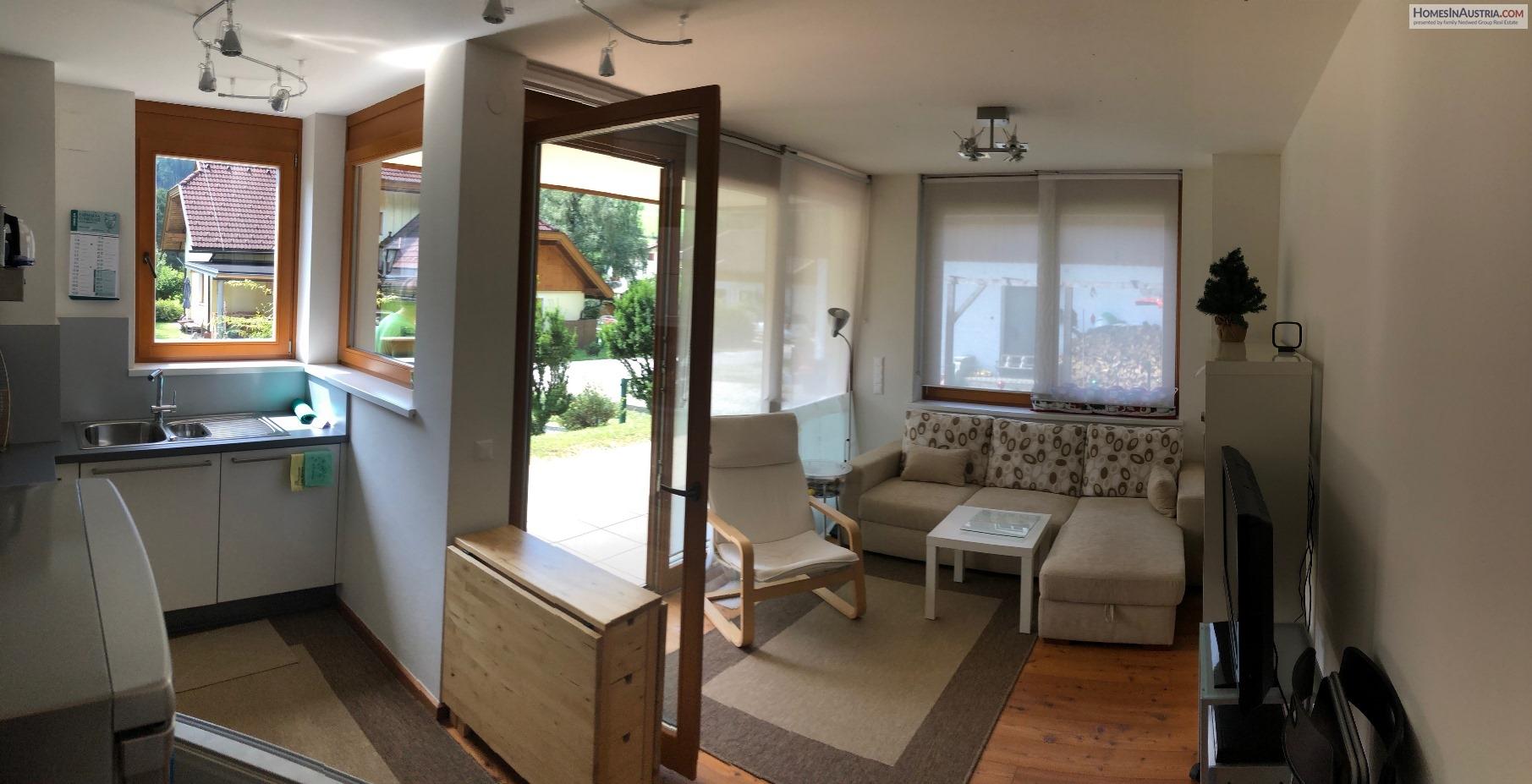 Bad Kleinkirchheim, Carinthia, Apartment (BRAHMS), sunny, terrace and garden