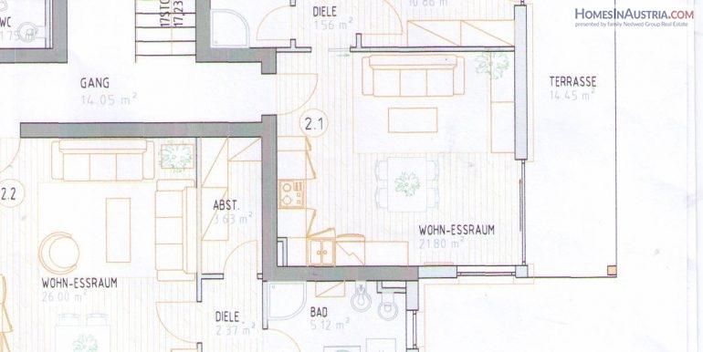 SELF, Wohnung Top 2.1