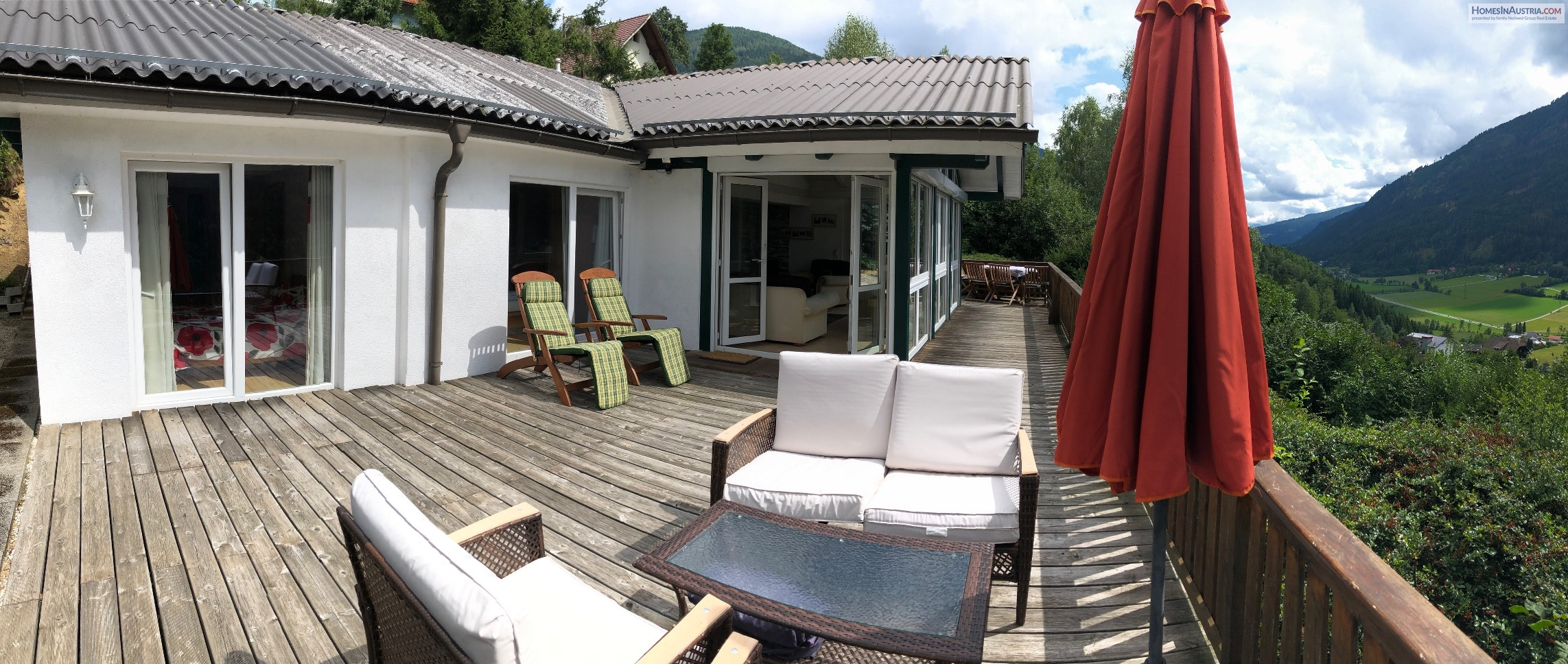 Untertweng/Radenthein, Carinthia, Great Home (CHILL) totally sunny, beautiful view