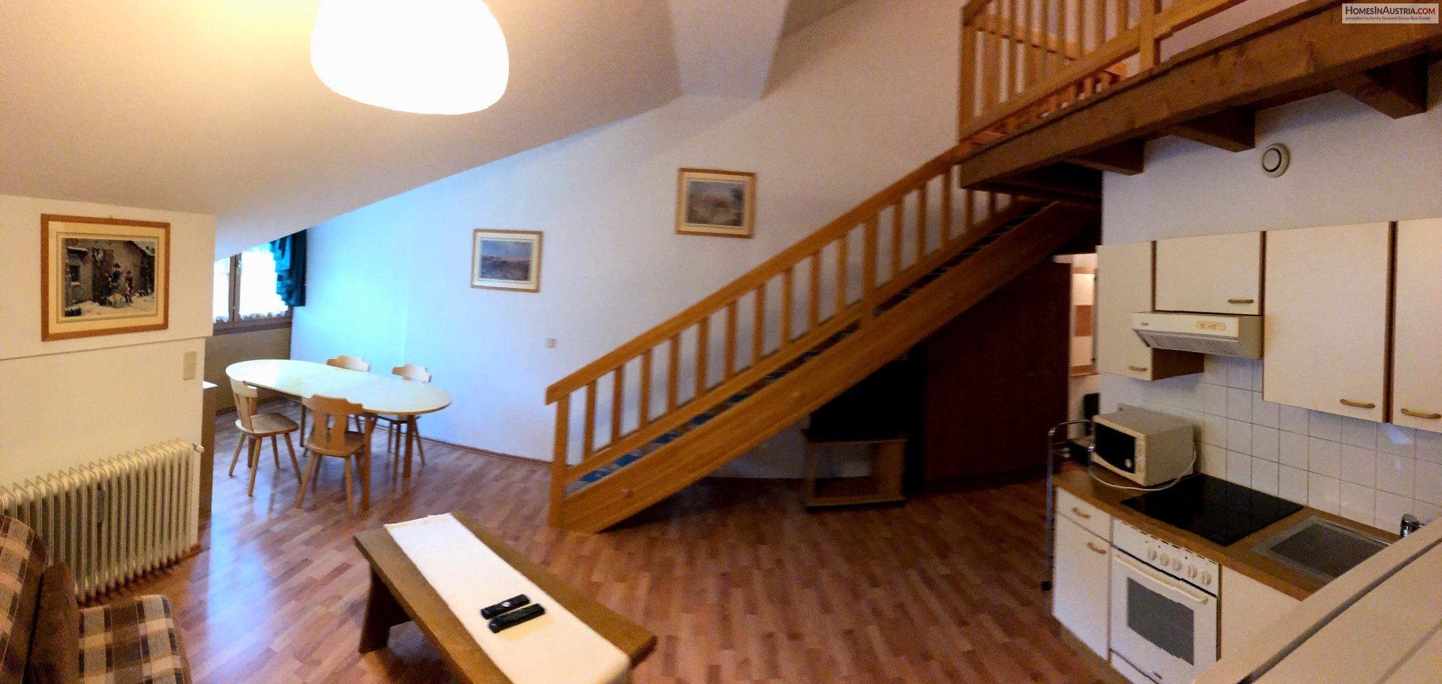 Bad Kleinkirchheim, Carinthia, Mansard (CENTRAL) with 2 bedrooms, Garage