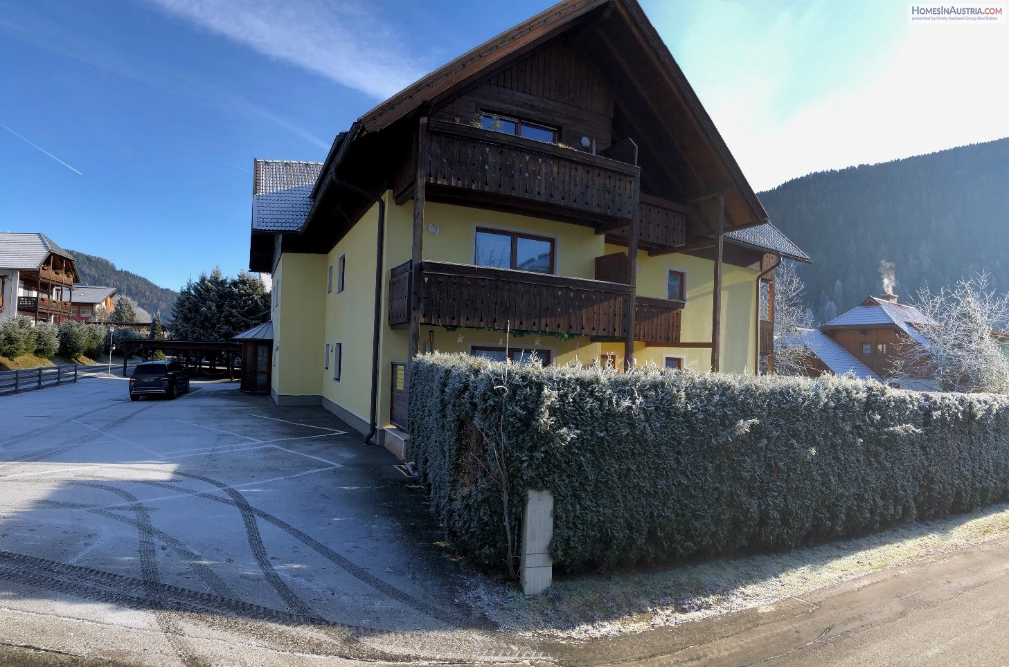 Bad Kleinkirchheim, Carinthia, Apartment under the roof (SELF), 1 Bedroom, Balcony