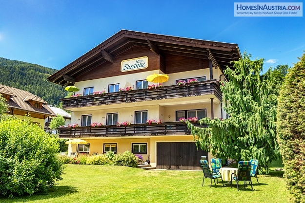 Bad Kleinkirchheim, Carinthia, Guesthouse (SUSANNE) with 4 Apartments in best location and sunny!