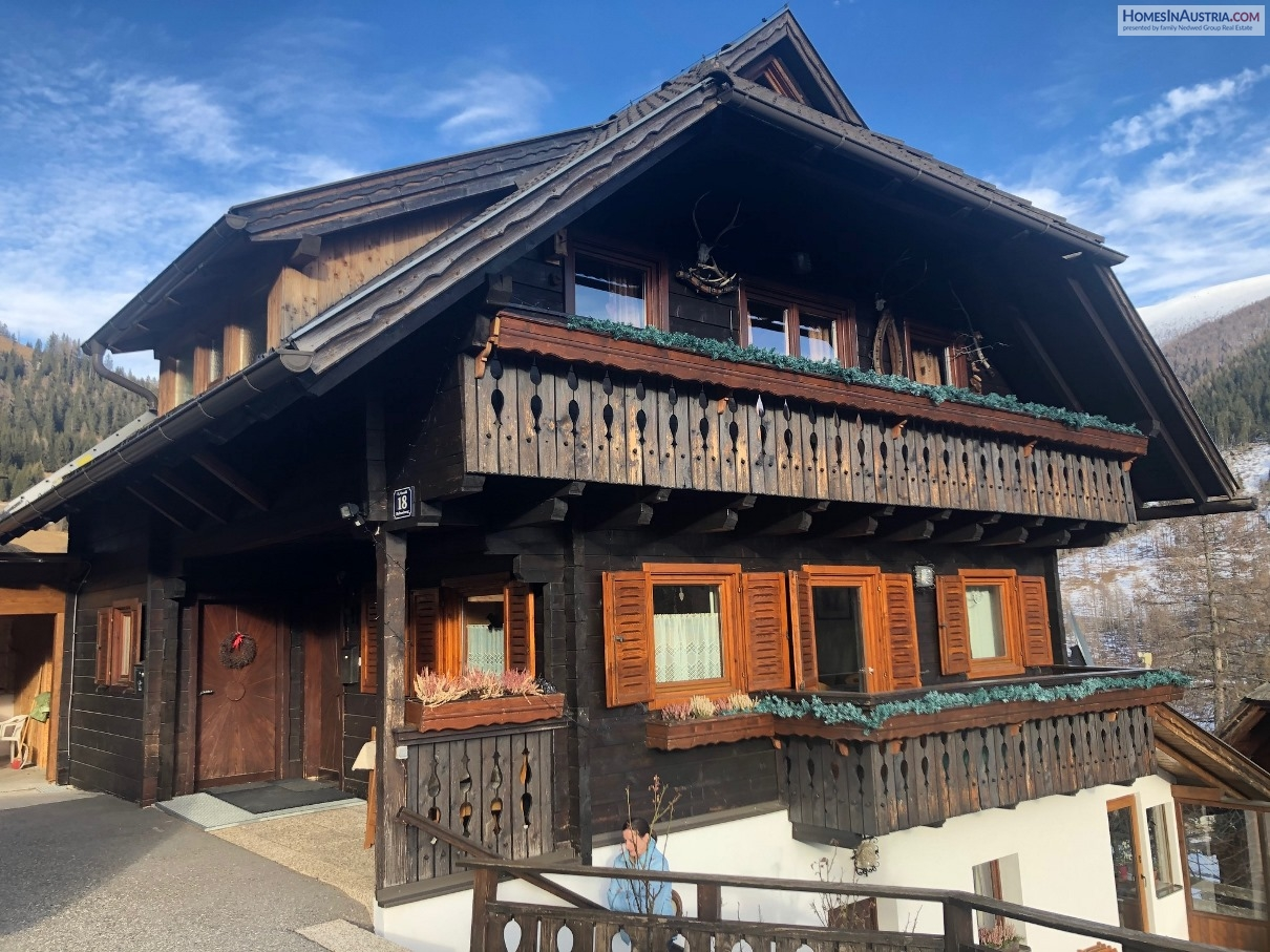 St Oswald, Bad Kleinkirchheim, Carinthia, 2 Apartments, One Price, live in one and rent the other