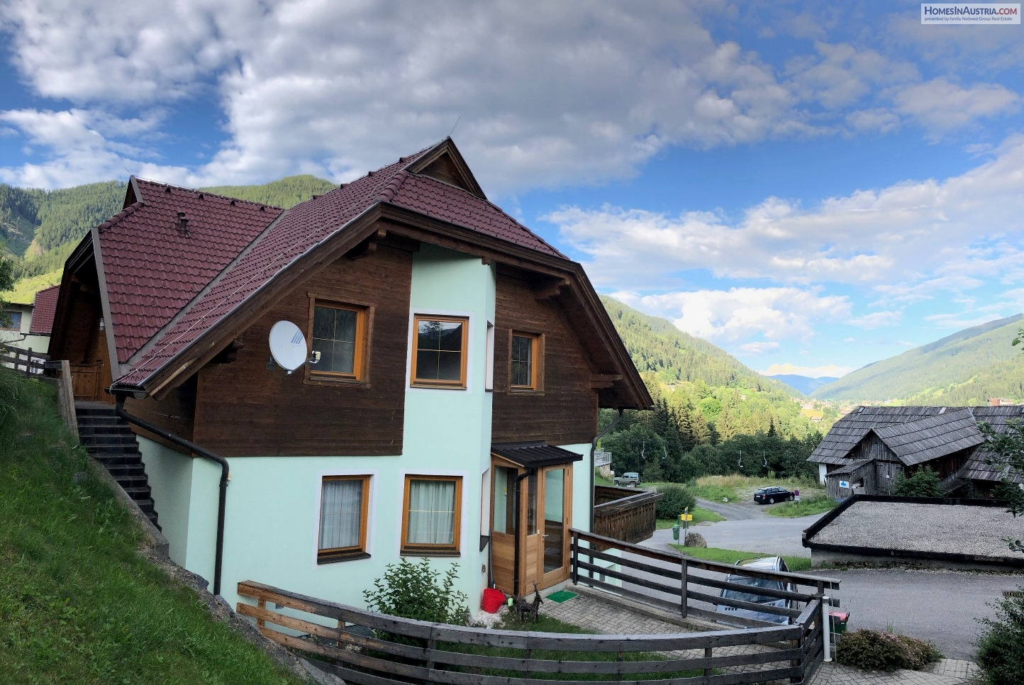Bad Kleinkirchheim, Carinthia, Nice Apartment (BELLAVISTA), Sunny, near Ski slopes, 2 Bedroom, Balcony, Garage