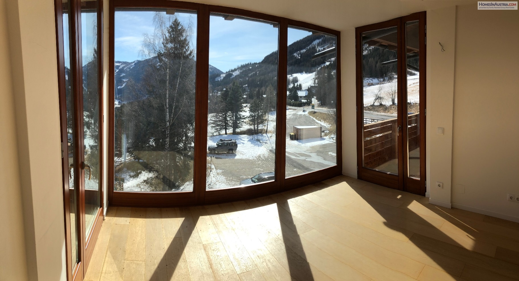 Bad Kleinkirchheim, Carinthia, Apartment (SCHNEE 2) area of St Oswald, 3 bedrooms 2 baths, large Balcony