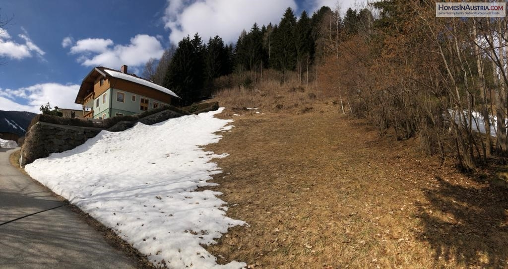 Wiedweg, Reichenau, Carinthia, 2 vacant buildable lots near golf course and 4 ski resorts