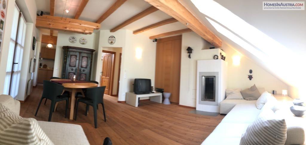 Bad Kleinkirchheim, Carinthia, Attic Apartment (NOBEL) 55m2, 1 Bedroom, Balcony